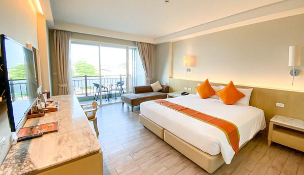 ヒセア ホアヒン ホテル(Hisea Huahin Hotel)の客室1