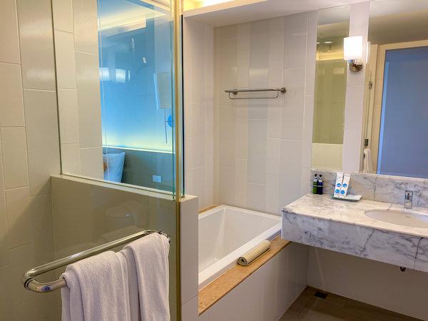 ヒセア ホアヒン ホテル(Hisea Huahin Hotel)の客室バスルーム