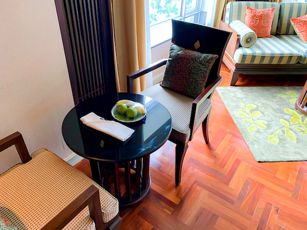 クルンシリ リバー ホテル(Krungsri River Hotel)のウェルカムフルーツ