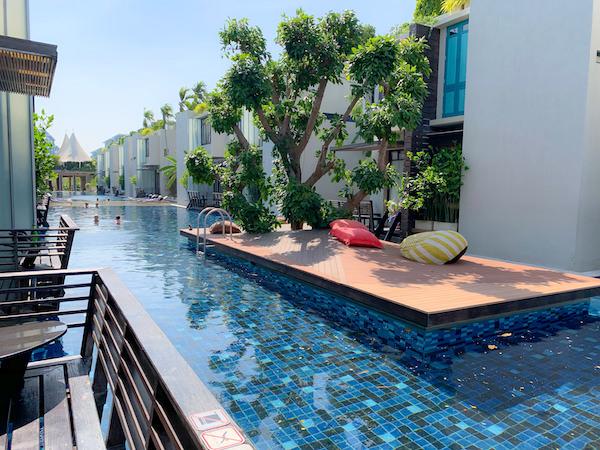 レッツシーホアヒン アルフレスコ リゾート(Let's Sea Hua Hin Al Fresco Resort)のプール4