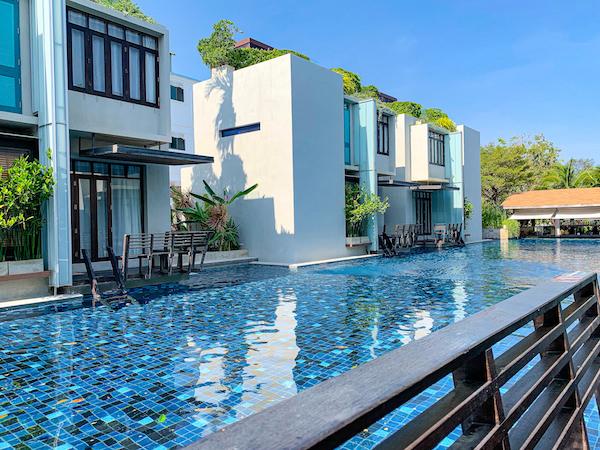 レッツ シー フアヒン アルフレスコ リゾート(Let's Sea Hua Hin Al Fresco Resort)のプール3