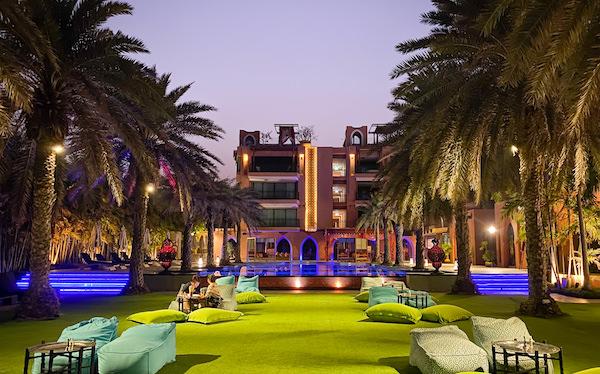 マラケシュホアヒン リゾート アンド スパ(Marrakesh Hua Hin Resort and Spa)のレストラン1