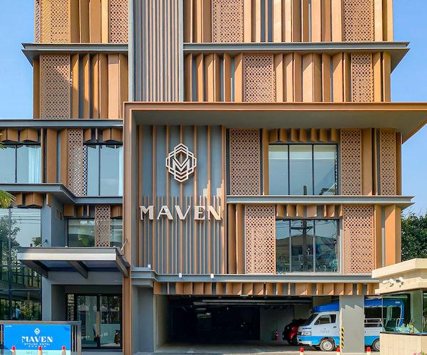 メイヴン スタイリッシュ ホテル ホアヒン(Maven Stylish Hotel Hua Hin)の外観