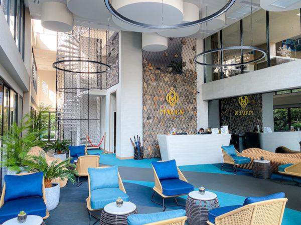 メイヴン スタイリッシュ ホテル ホアヒン(Maven Stylish Hotel Hua Hin)のレセプション