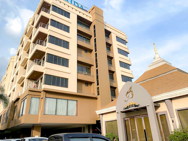 ミダ ホテル ドンムアン エアポート バンコク(Mida Hotel Don Mueang Airport Bangkok)の外観