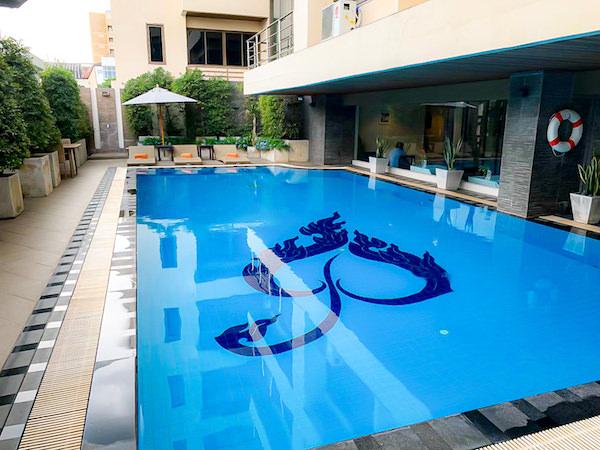 ミダ ホテル ドンムアン エアポート バンコク(Mida Hotel Don Mueang Airport Bangkok)のプール