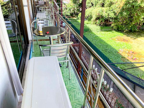 P U イン リゾート(P.U. Inn Resort)のバルコニー