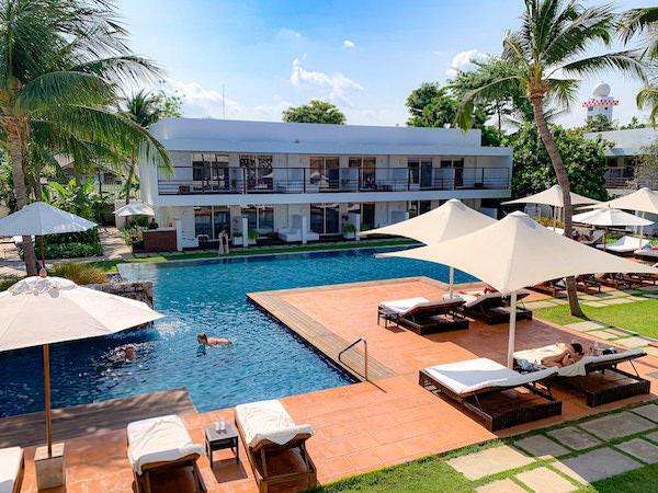 プタラクサ ホアヒン リゾート(Putahracsa Hua Hin Resort)のプール