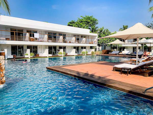プタラクサ ホアヒン リゾート(Putahracsa Hua Hin Resort)のプール2