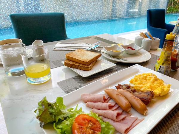 メイヴン スタイリッシュ ホテル ホアヒン(Maven Stylish Hotel Hua Hin)の朝食