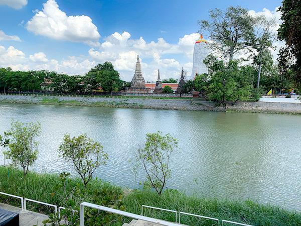サラ アユタヤ(sala ayutthaya)のバルコニー