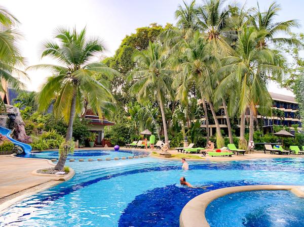 サイアムベイショアリゾートパタヤ(Siam Bayshore Resort Pattaya)のファミリー用プール2