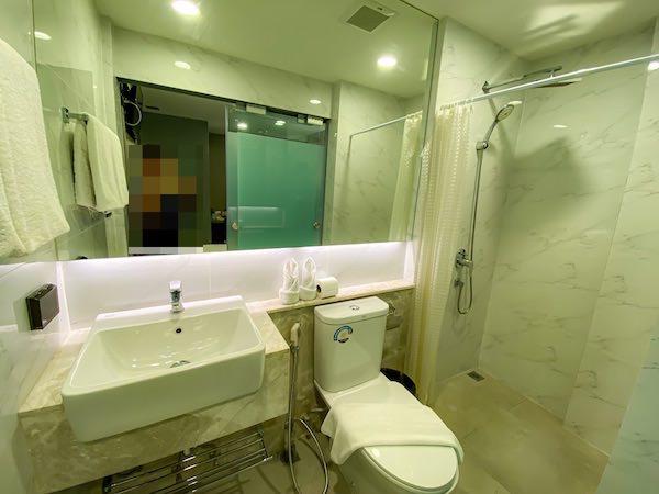 スタジオ エカマイ (Studio Ekamai)のシャワールーム