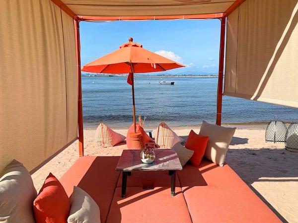 ゼットビーチ(Z beach)のベッド席