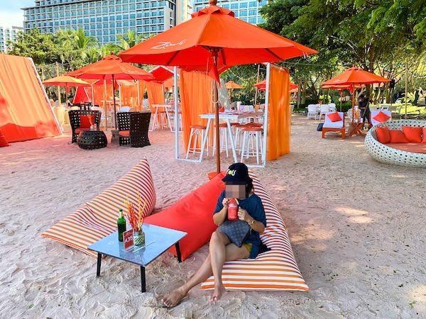 ゼットビーチ(Z beach)のソファー席2