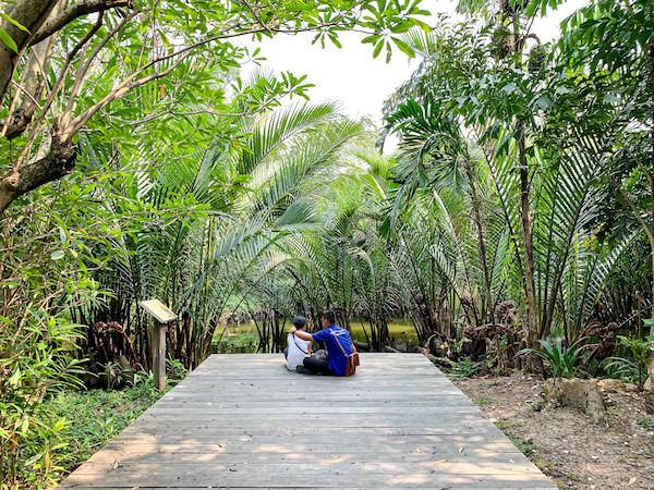 バーンガジャオのシーナコン クエンカン公園1