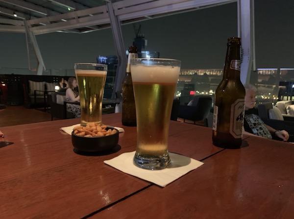 バンコク マリオットホテル スクンビット(Bangkok Marriott Hotel Sukhumvit)のオクターブで飲んだビール