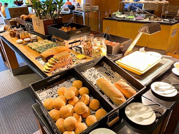 プルマン バンコク ホテル G(Pullman Bangkok Hotel G)の朝食ビュッフェ2
