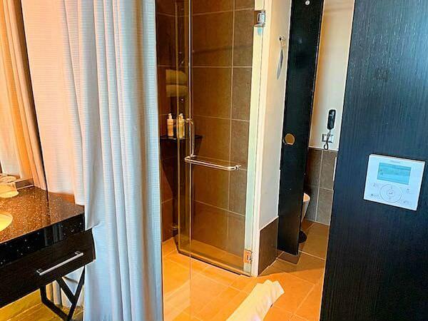 サイアム アット サイアム デザイン ホテル パタヤ(Siam @ Siam Design Hotel Pattaya)のシャワールーム1