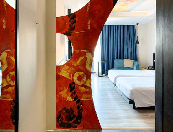 サイアム アット サイアム デザイン ホテル パタヤ(Siam @ Siam Design Hotel Pattaya)の客室1