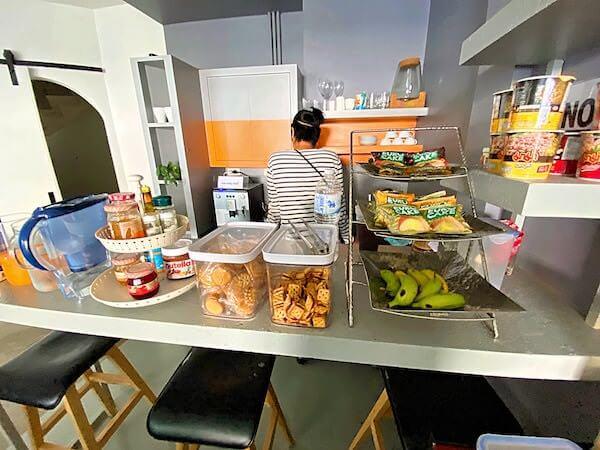 シーロム ステュディオス(Silom Studios)の朝食