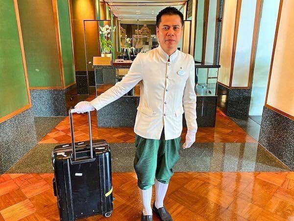 ザ スコータイ バンコク(The Sukhothai Bangkok)のホテルスタッフ