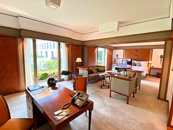 ザ スコータイ バンコク(The Sukhothai Bangkok)の客室1
