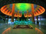 ワットパクナム大仏塔5階に安置されている仏舎利塔