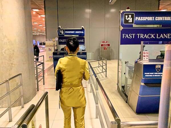 スワンナプーム国際空港のファストトラック2