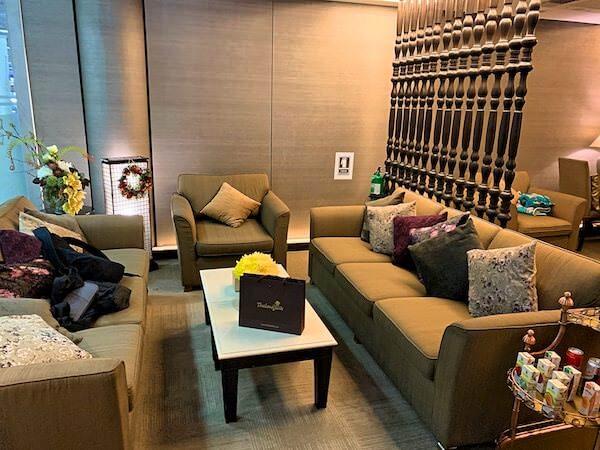 スワンナプーム国際空港にあるタイランドエリート専用のラウンジ
