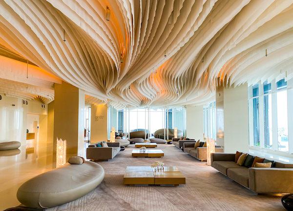 ヒルトン パタヤ (Hilton Pattaya)のチェックインロビー