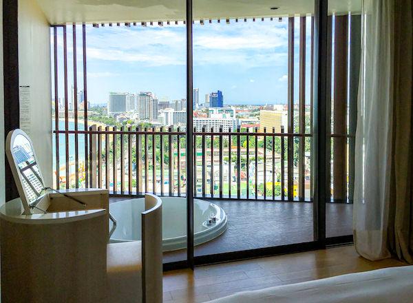 ヒルトン パタヤ (Hilton Pattaya)のバルコニー