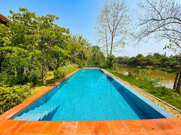 ラヤヘリテージ チェンマイ(Raya Heritage Chiangmai)のプール1
