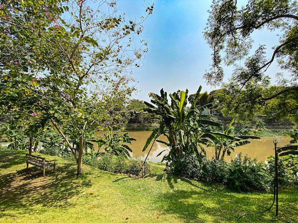 ラヤヘリテージ チェンマイ(Raya Heritage Chiangmai)の中庭