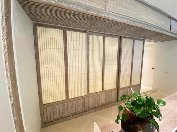 ラヤヘリテージ チェンマイ(Raya Heritage Chiangmai)客室の障子