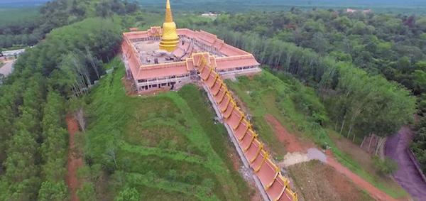 ワット・ブーンヤワッド(Wat Boonyawad)の空撮