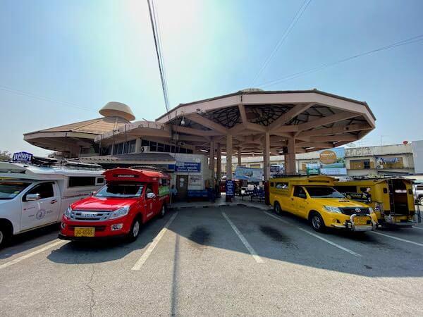 チェンマイバスターミナル1の外観