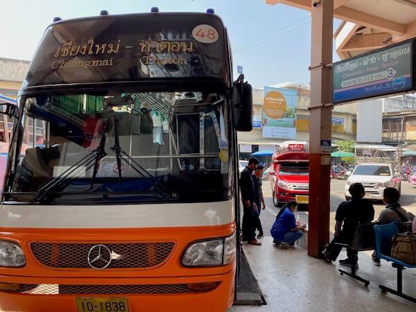 チェンダオ行きのバス