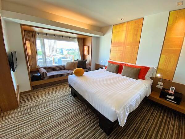 デュシット D2 ホテル(Dusit D2 Chiang Mai Hotel)の客室ベッドルーム