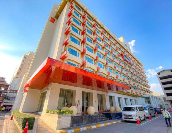 デュシット D2 ホテル(Dusit D2 Chiang Mai Hotel)の外観