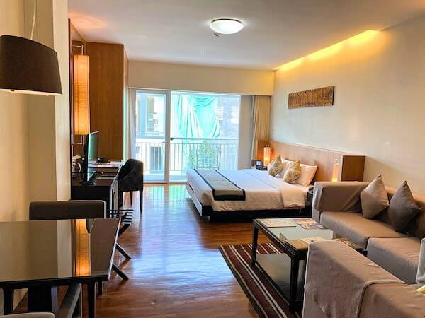 カンタリー ヒルズ ホテル(Kantary Hills Hotel)の客室1
