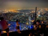 夜のマハナコンタワーの展望台6