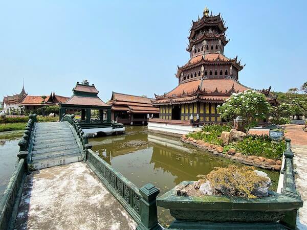 ムアンボーランのThe Phra Kaew Pavilion2