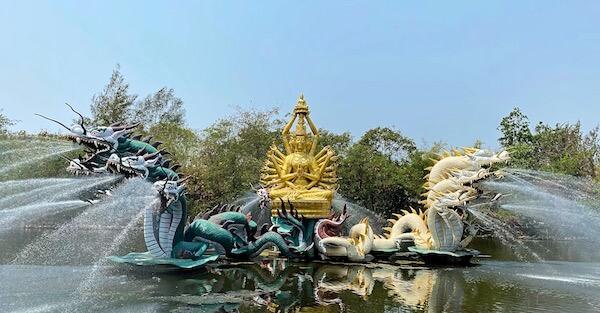 ムアンボーランのBodhisattva Avalokitesvara
