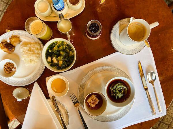 ザ スコータイ バンコク(The Sukhothai Bangkok)で食べた朝食