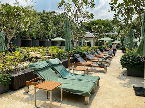 ザ スコータイ バンコク(The Sukhothai Bangkok)のプール3