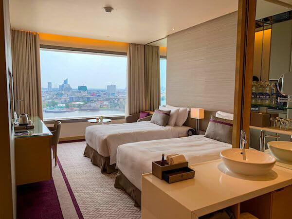 アヴァニ リバーサイド バンコク ホテル(Avani Riverside Bangkok Hotel)の客室1