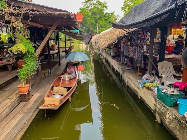 バンナムプン水上マーケット(Bang Nam Pheung Floating Market)1