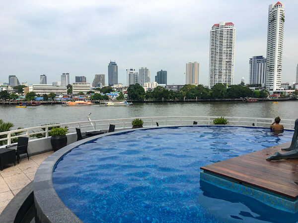 チャトリウム ホテル リバーサイド バンコク(Chatrium Hotel Riverside Bangkok)のプール