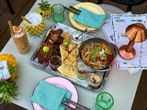 キンプトン マーライ バンコク(Kimpton Maa-Lai Bangkok)のスカイバー「バーヤード(Bar.Yard)」で食べた食事3
